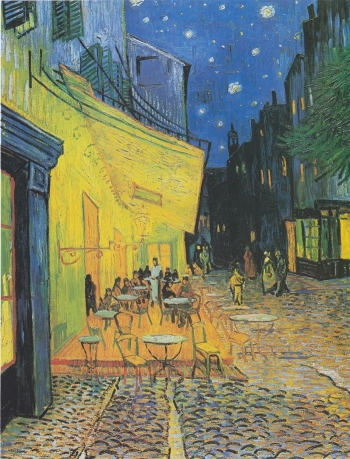 'Taras kawiarni w nocy', V. Van Gogh
