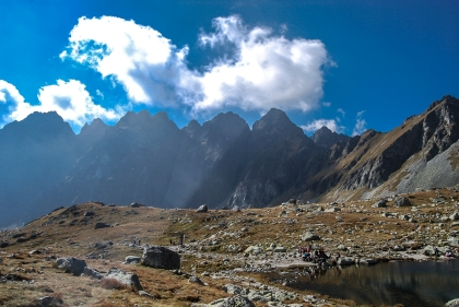 2000 m above the sidewalks . High Tatras and the Western Tatras (2011) 01
