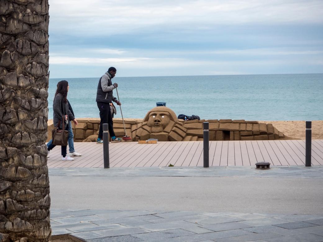 Barcelona morze
