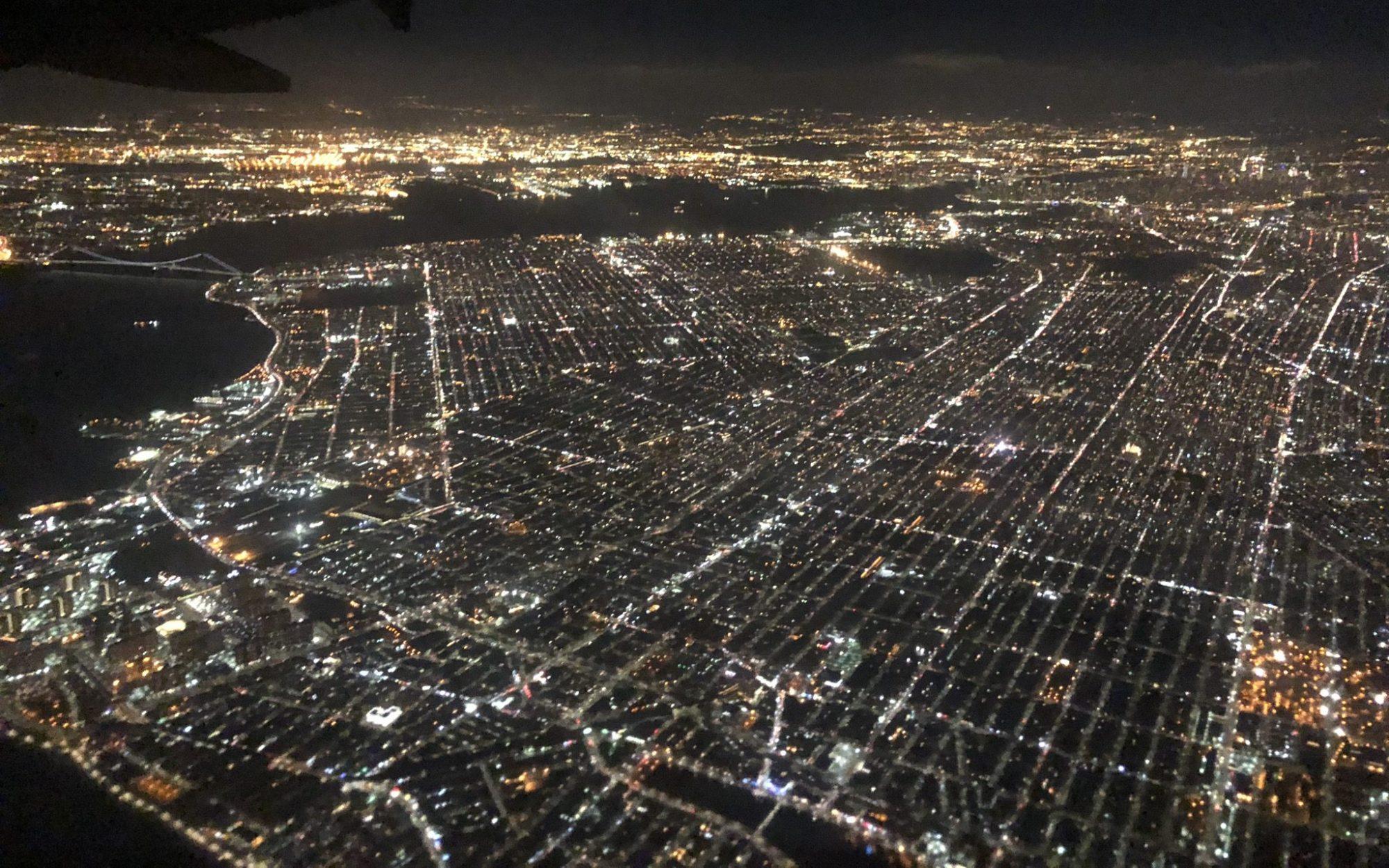 Nowy Jork, noc